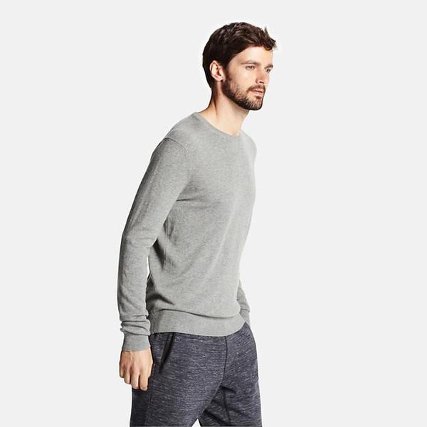 e92d953bdbe9 Men Cotton Cashmere V-Neck Sweater – Sales Pop